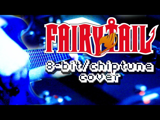 8bit Chiptune Fairy Tail Main Theme 8bit NES chiptune Line6 POD HD500 Guitar cover
