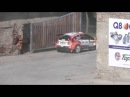 Barum Czech rally Zlín 2016 - Lukyanuk Crash
