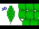Параллельное низание бисером. 3D - урок