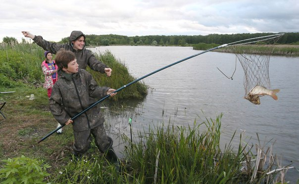 рыбалка в улиткино