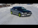 BMW E36 Crazy winter snow drift 2016