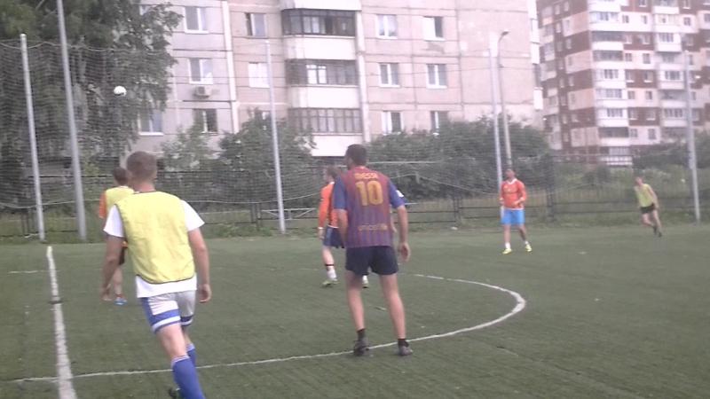 Чемпионат Пермского Края 8х8, 1 лига. Упакс Юнити-Железка-5:0. 1 тайм