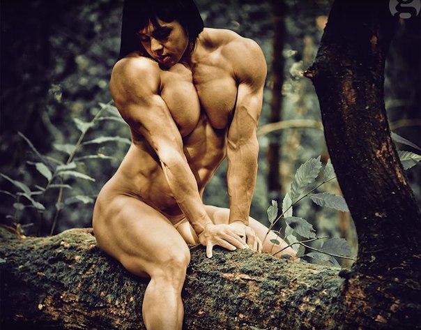 женщины бодибилденг голые фото