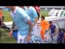 Málaga CF в Твиттере- «MCFTV- Así fue la salida al terreno de Balaídos de los malaguistas. Hoy de morado!! VamosMálaga s-__