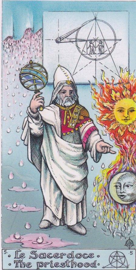 значение пятого аркана таро алхимическое толкование карты