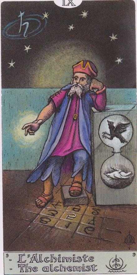 значение девятого аркана таро толкование алхимия