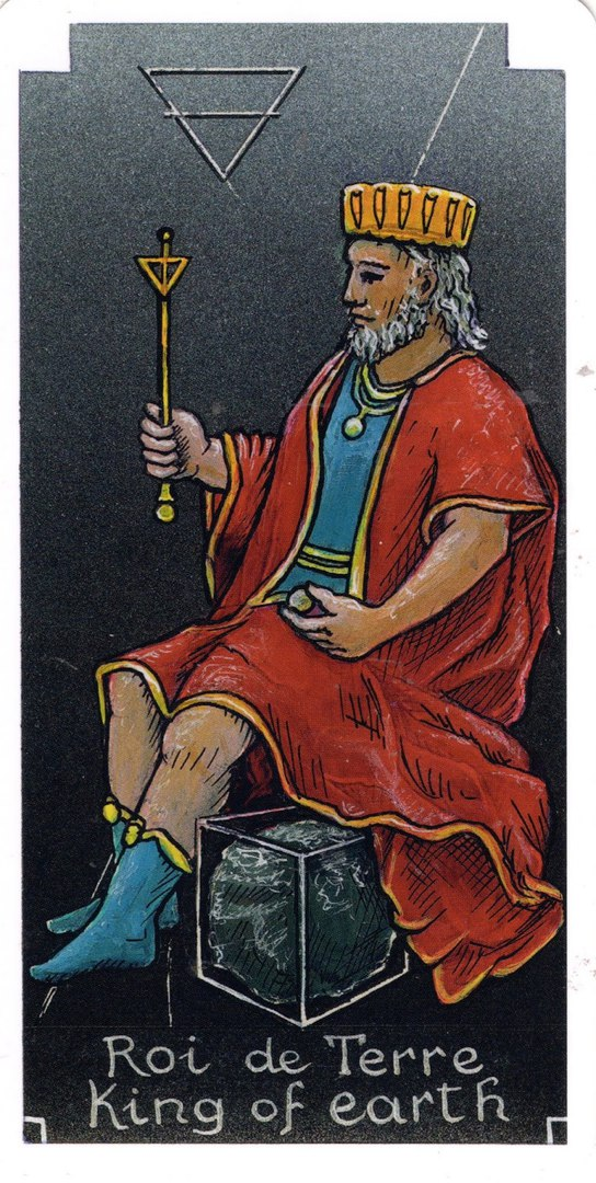 толкование значение карты король пентаклей дисков таро