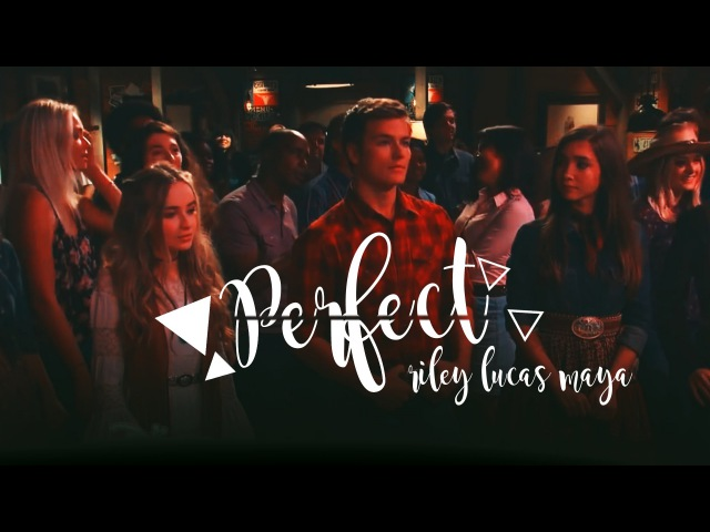 Riley/Lucas/Maya - Perfect [AU]