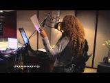 Beyonce - Recording Amor Gitano (Ft. Alejandro Fernandez)