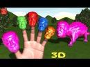 DONALD TRUMP - DINOSAUR ANKYLOSAURUS CANDY WALKING Finger Family 3D Nursery Rhymes