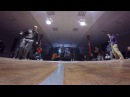 Funky Man 9 | Popping 1/8 final PAKU vs Tanya