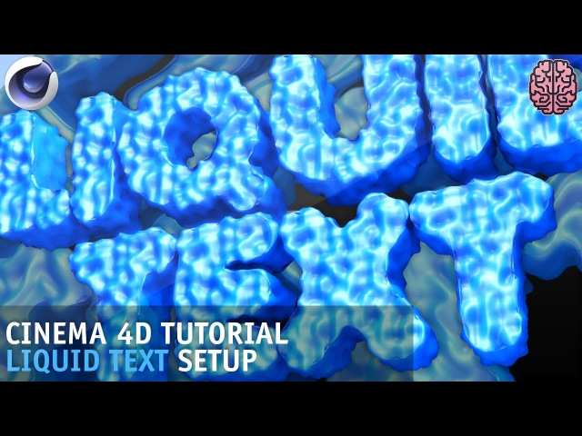 Tutorial: C4D Liquidy Text Effect Setup by Qehzy