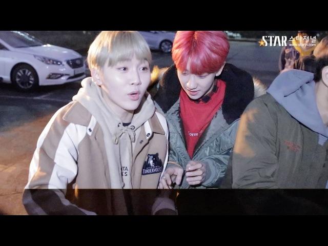 [스타영상] 세븐틴(SEVENTEEN) 뮤직뱅크 867회 아침 리허