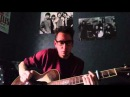 The Bad Touch - Bloodhound Gang Percussive style Acoustic guitar cover