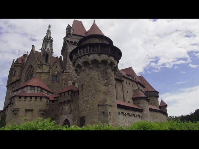 Замок Кройценштайн ОБЗОР (Burg Kreuzenstein) -часть-1 Замки Австрии 🌏 Моя Планета