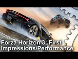 Forza Horizon 3: First Hands-On/Gameplay Frame-Rate Test