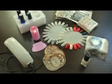 HAUL Покупки для ногтей с Aliexpress (Наклейки, стемпинг, Led лампа, гель лак, фольга и др)