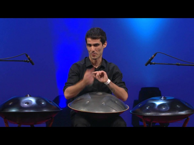 The Hang drums magic Spyros Pan at TEDxAthens 2013