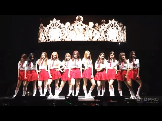 [Live HD] 160730 I.O.I - Full Perfomance @ KCON In LA 2016