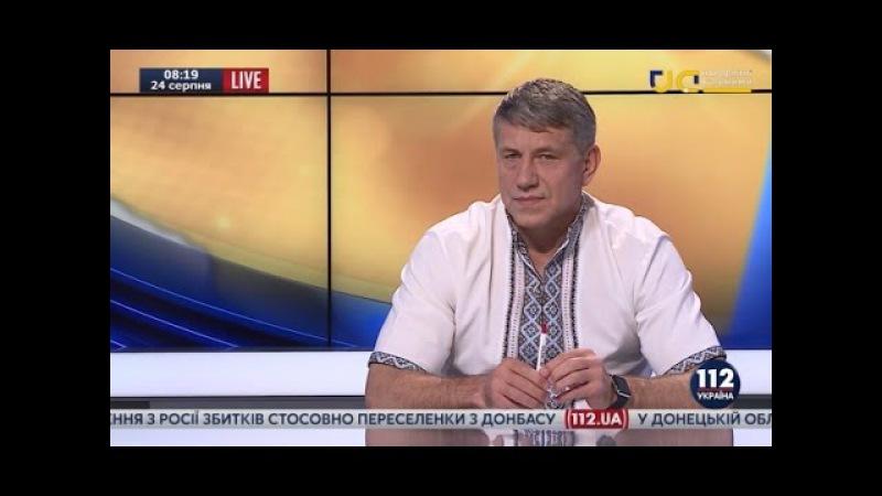 Игорь Насалик, министр энергетики и угольной промышленности Украины, - гость 112 Украина, 24.08.16