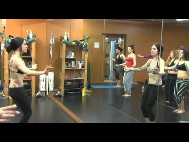 RAQSTV.com - Zoe Jakes Train Like a Pro 2012 workshop trailer (fusion bellydance)
