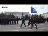 Глава ЛНР вручил знамя спасателям Республики, которые также приняли присягу