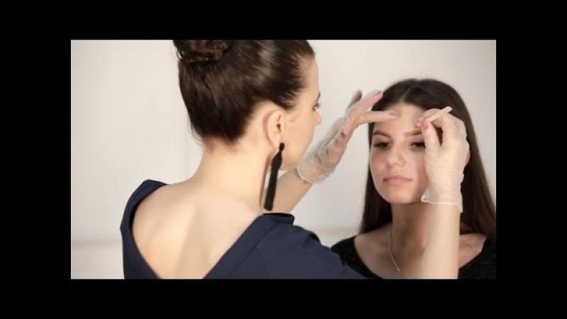 Окрашиваете бровей ELAN дневной макияж за 5 минут!