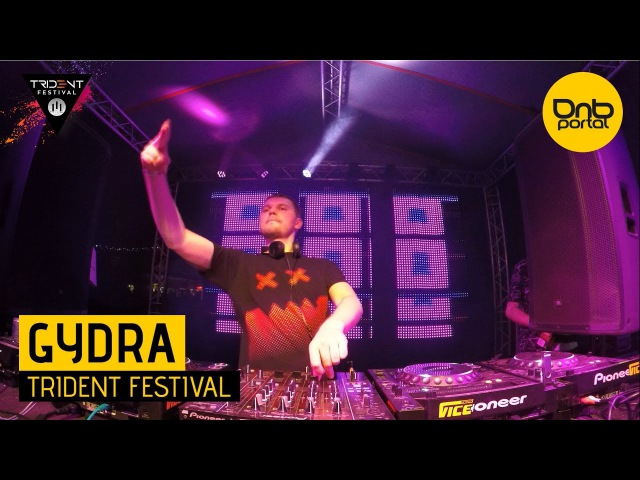 Gydra feat. Mc Coppa - Trident Festival 2016 [DnBPortal.com]