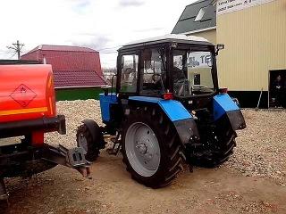 Трактор МТЗ-82: Полноприводный прорыв