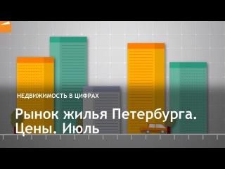 Рынок жилья Петербурга. Цены. Июль