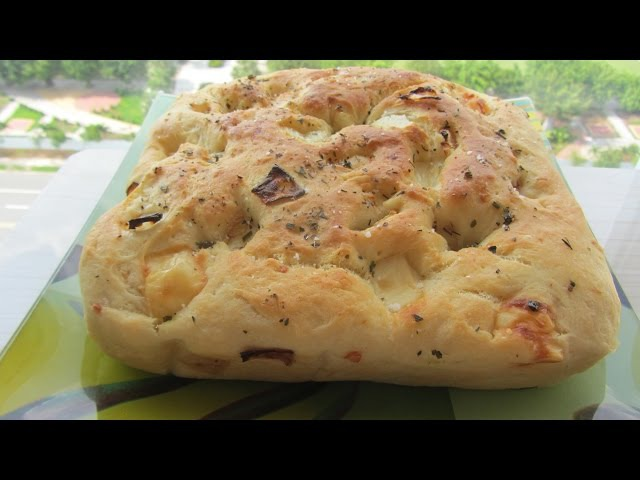 ВКУСНЫЙ ИтальянскИЙ ХЛЕБ ФОКАЧЧА с сыром и жаренным луком РЕЦЕПТ Focaccia Bread Ever recipe