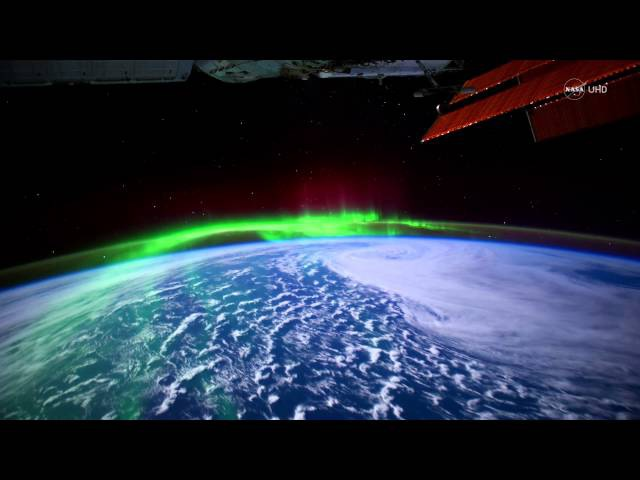 NASA UHD Video: Stunning Aurora Borealis from Space in Ultra-High Definition (4K)