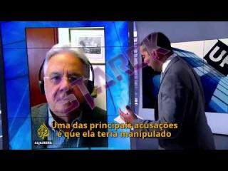 A POLÊMICA ENTREVISTA DE FHC A TV AL JAZEERA (LEGENDADO)