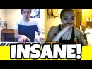 INSANE PIANO BEATBOXER MAKES GIRL CRY ON OMEGLE