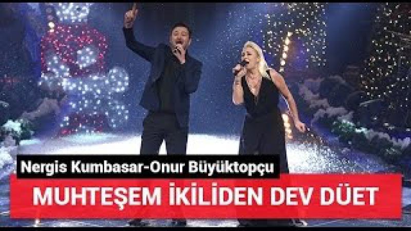 Nergis Kumbasar-Onur Büyüktopçu 'Durum Leyla' Yılbaşı Özel O Ses Türkiye