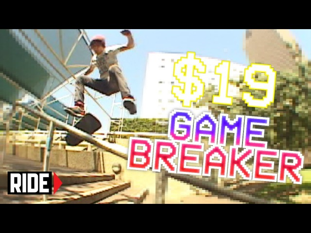 GAME BREAKER! Player 37 Nathan Hammond - Shredit Cards