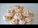 Творожное печенье с безе Розочки Рецепт печенья