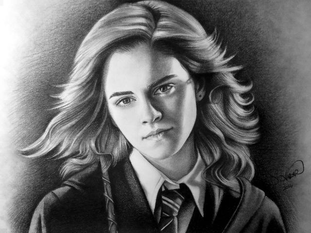 Speed Drawing Hermione Granger - Emma Watson