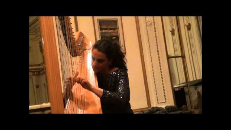Bridget Kibbey, Harpist, Plays J.S. Bachs Toccata and Fugue in Dm