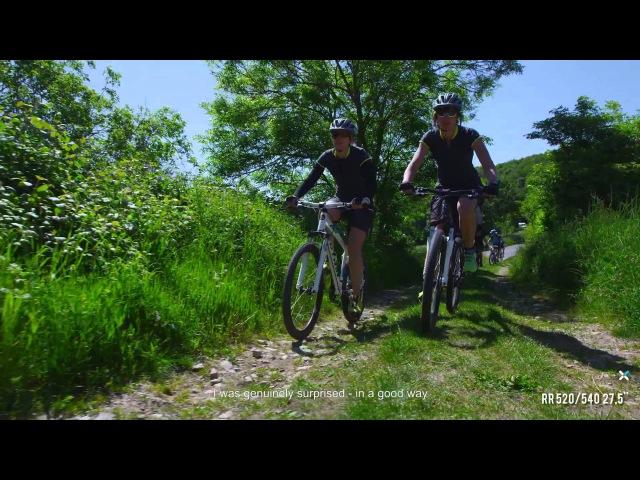 Mission test VTT Rockrider 520 et 540 B'TWIN Mountain bike test B'TWIN