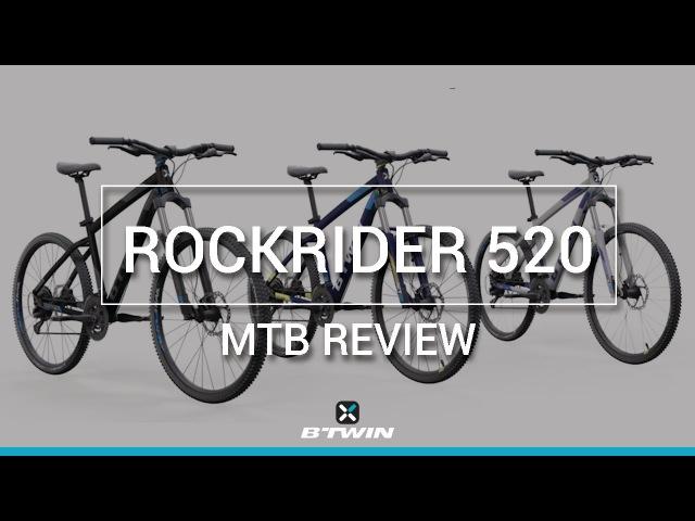 VTT SPORT ROCKRIDER 520 B'TWIN / MTB ROCKRIDER 520 B'TWIN
