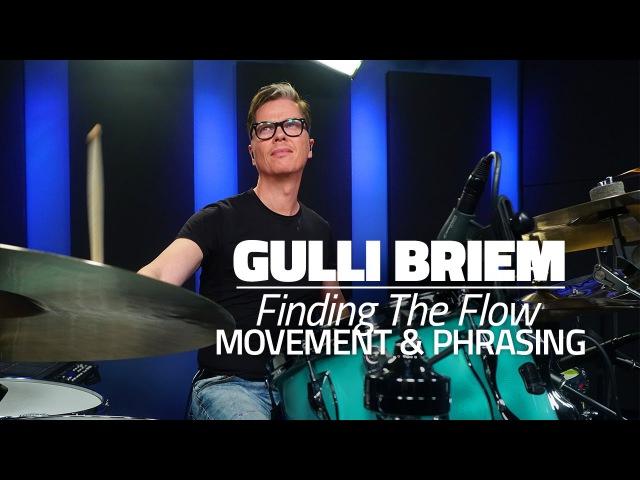 Gulli Briem: Movement Phrasing - Drum Lesson (DRUMEO)
