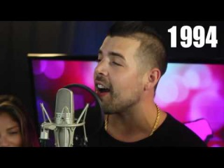 Guy sings every hit song from the 90's 2000's over one beat!