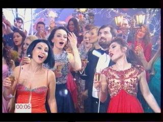 Участники проекта Голос - Королева танца. Новогодняя ночь 2017 на Первом (01-01-2017)