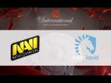 NaVi vs Liquid   TI 6, 08.08.16
