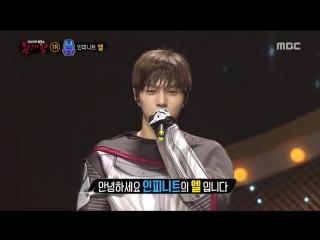 [Раскрытие] Я твой отец - L из Infinite [Lee Moon Se - In the Rain] @ King of the Mask Singer 160612