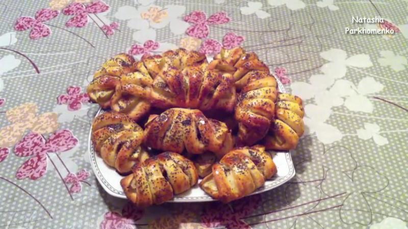сладкая выпечка с яблоками рецепты с фото