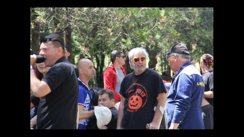 Слет байкеров 21 мая 2016г в п.Зуя турбаза Баланово Симферопольский р-н