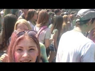 Фестиваль красок 2016 (день рождение Европы