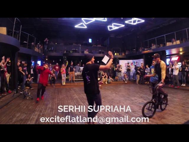 Serhii Supriaha BMX perfomance 2016 | Сергей Супряга велосипедное шоу